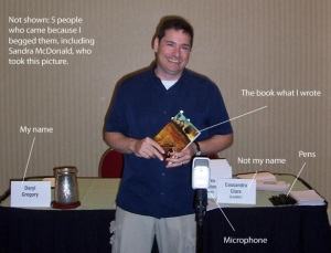 Reading at ReaderCon
