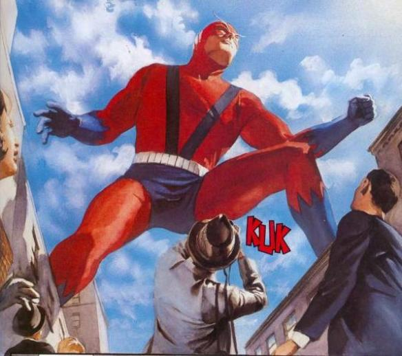 Giant Man is giant, man