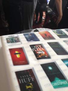 Titan Books Party Cake
