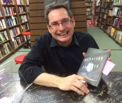 March 31. Happy Daryl in Eagle Eye Books in Decatur, GA.