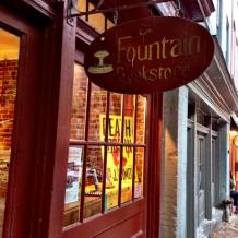 Fountain Books, Richmond VA. I forgot to take a picture, so here's one from E.J. Simon.