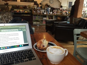 March 30, Richmond VA. Before the signing, I spent the day at the Urban Farmhouse Cafe. So... good...